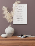 COFFEE GUIDE - FINE ART POSTER