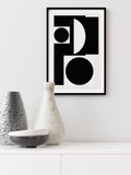 ART ABSTRAIT - FINE ART POSTER