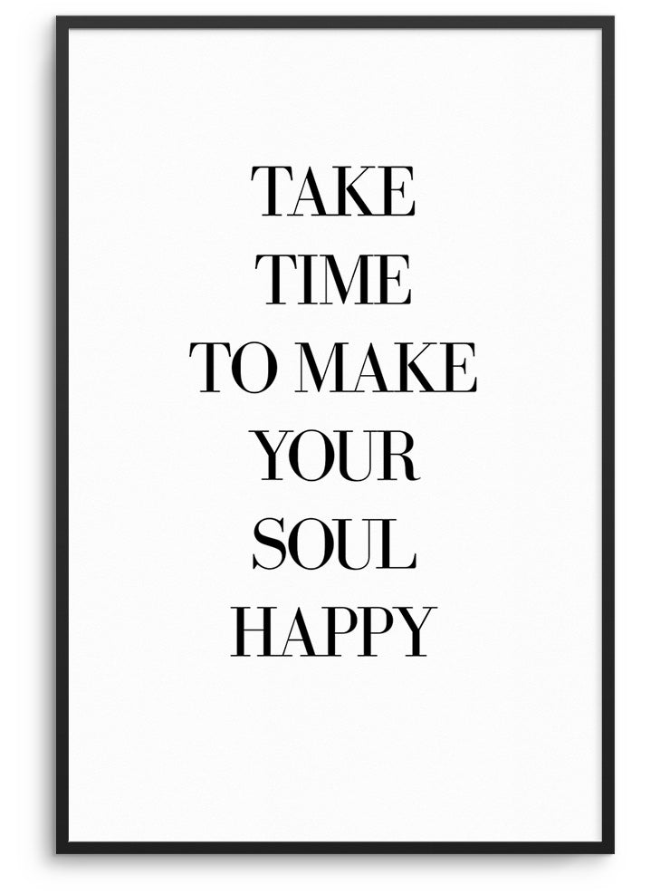 HAPPY SOUL - FINE ART POSTER