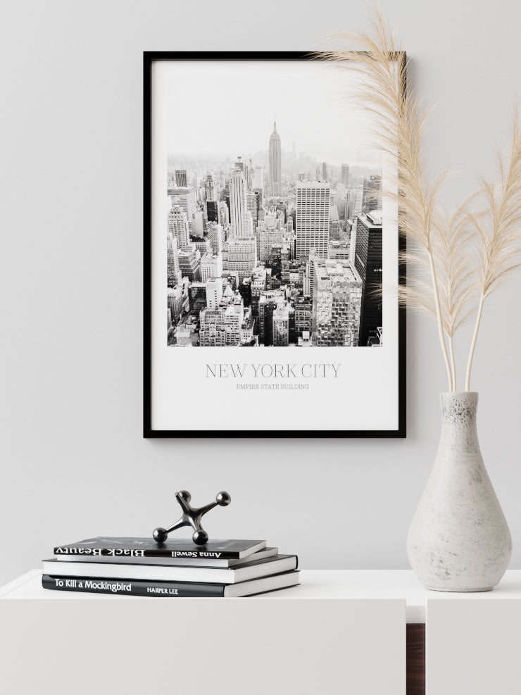 NEW YORK CITY - FINE ART POSTER