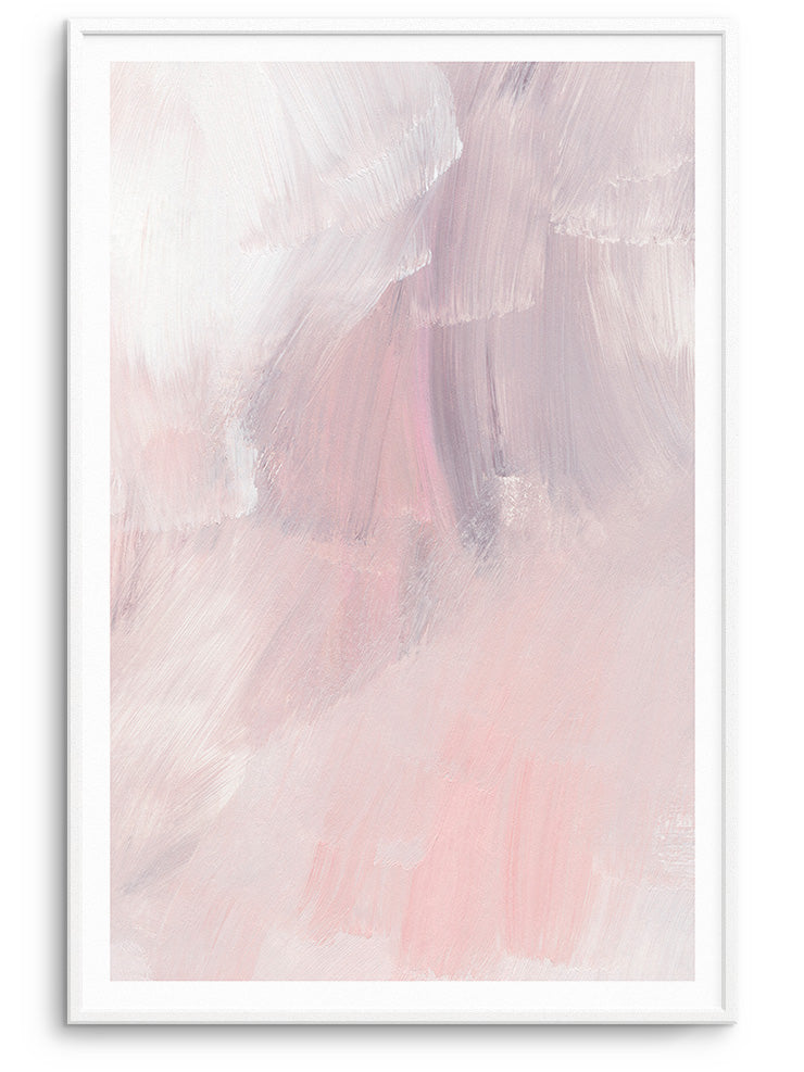 ROSE ABSTRAIT - FINE ART POSTER