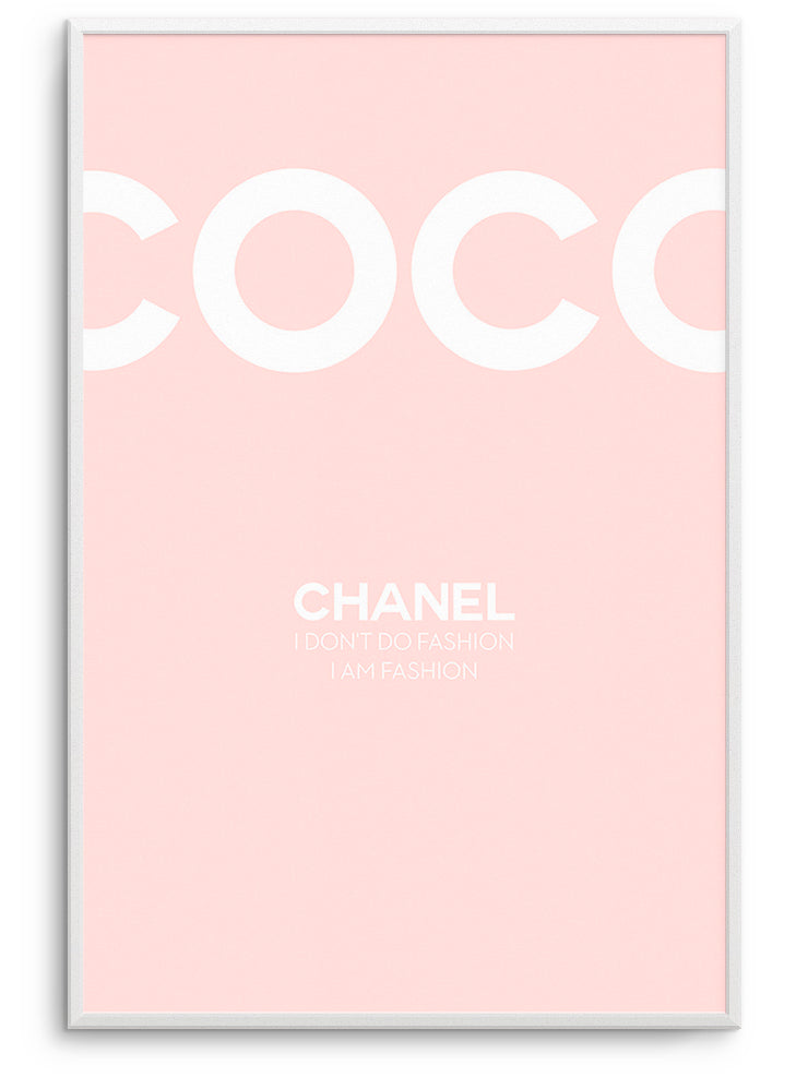 COCO CHANEL FASHION III - DEKORATİF BASKI