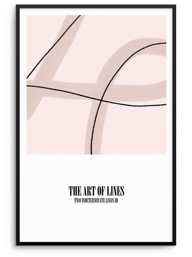 ART OF LINES II - FINE ART POSTER
