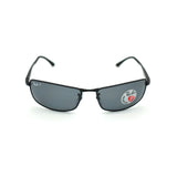 RAY BAN POLARIZED NOIRE RB 3498 006/81 61-17