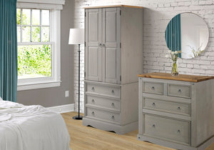 Azalea GREY Bedroom Set<br>£12.50 for 48 weeks