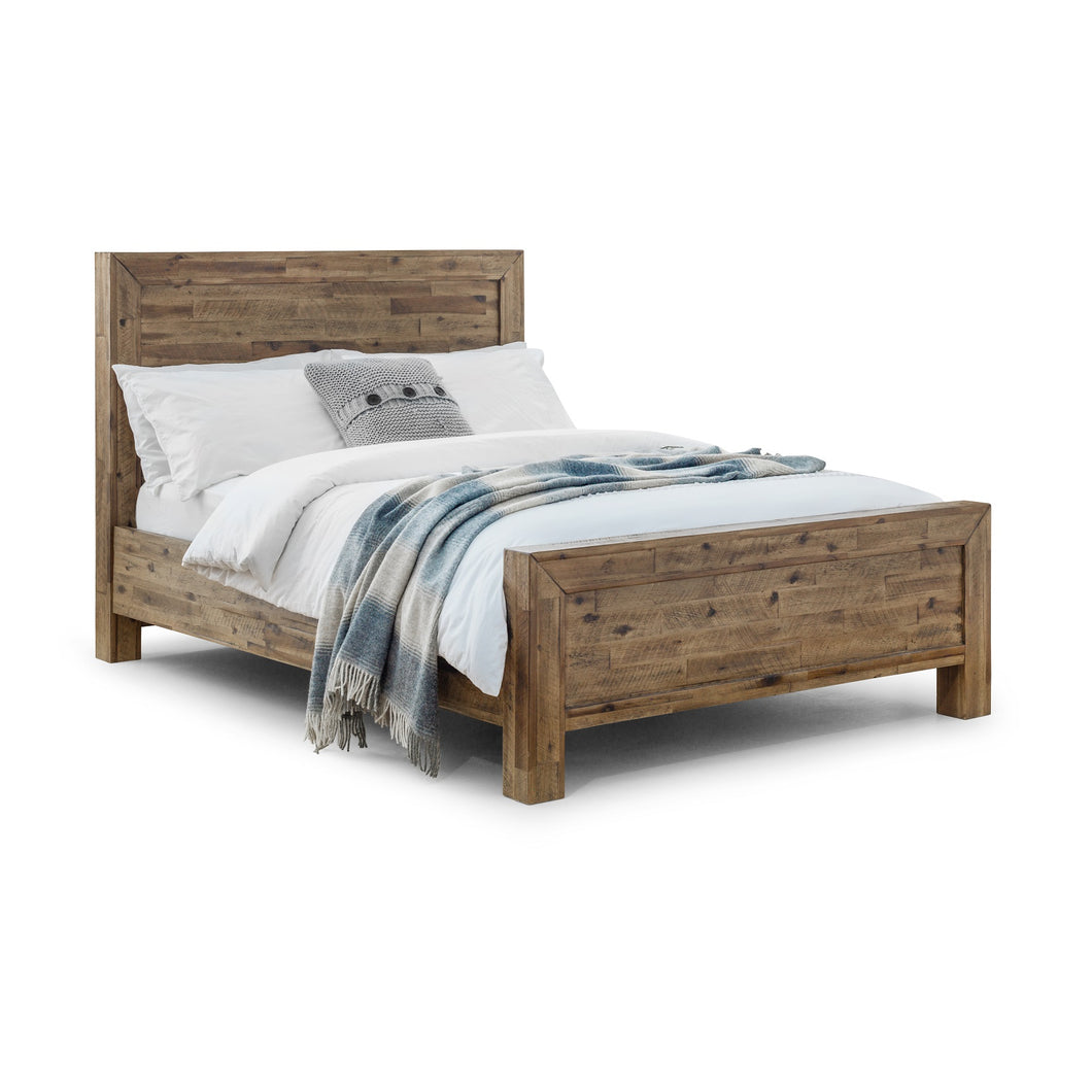 Loxley Wooden Double Bed<br>£13 Per Week For 52 Weeks
