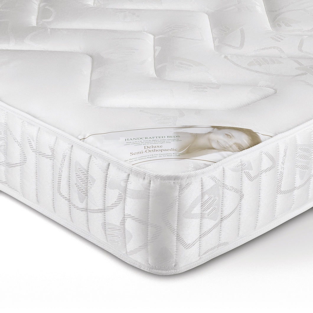 Deluxe Semi Orthopaedic Single Mattress<br>£10 Per Week For 16 Weeks