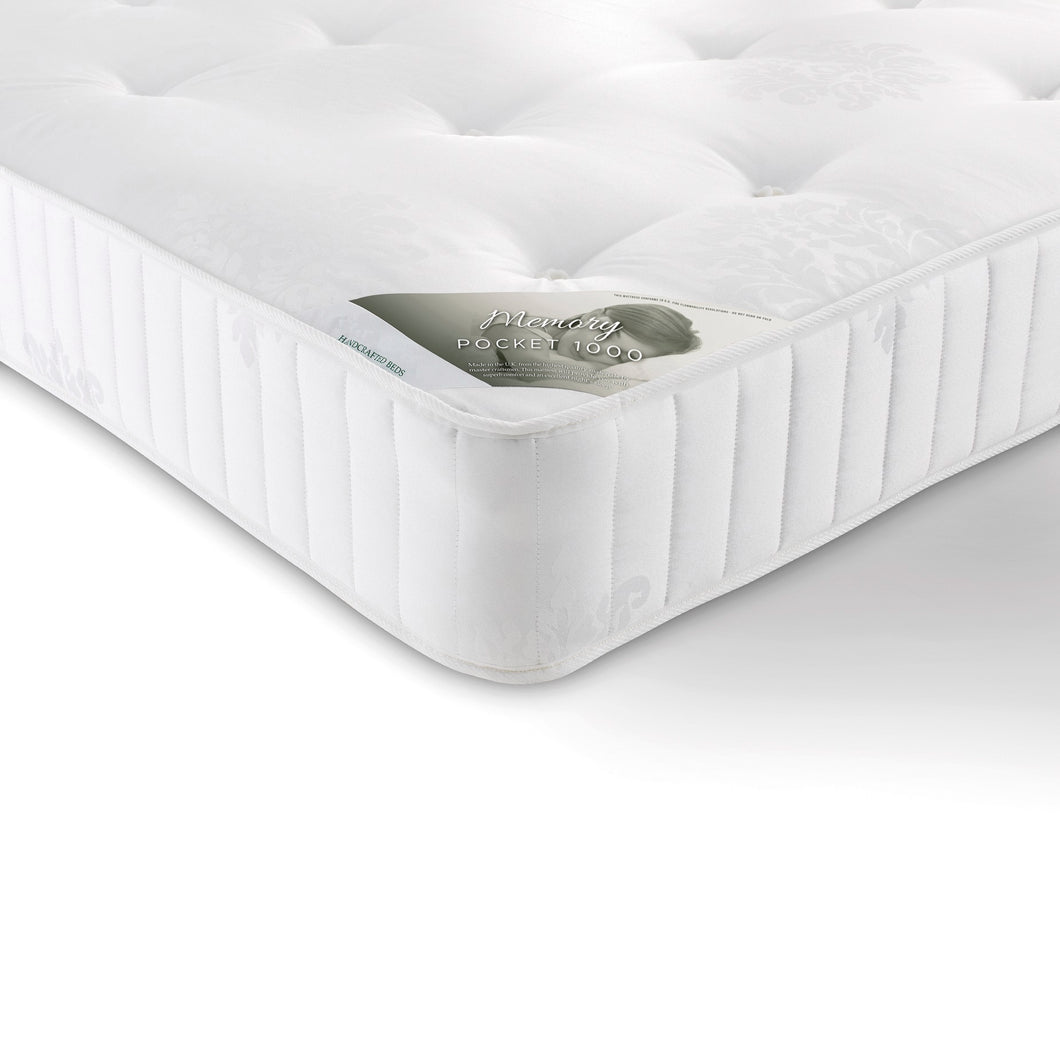 Supreme Memory Pocket 1000 King Size Mattress<br>£12 Per Week For 52 Weeks