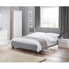 Load image into Gallery viewer, Saturn Fabric Double Bed<br>£10 Per Week For 30 Weeks