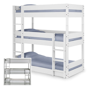 Claydon Trio Bunk Bed<br>£15 Per Week For 52 Weeks
