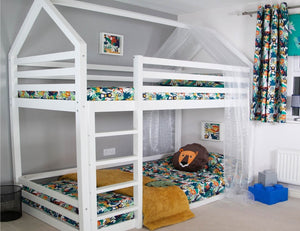 Play House Bunk Bed<br>£13.50 Per Week For 52 Weeks