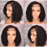 Natural Color Bob Lace Frontal Wig