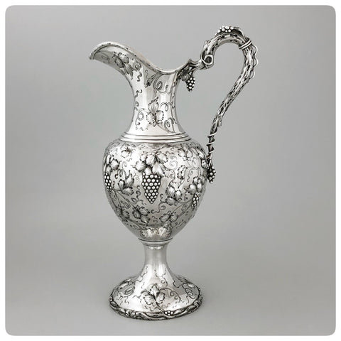 Sterling Silver Ewer, A. G. Schultz and Company, Baltimore, MD, Circa 1905 - The Silver Vault of Charleston