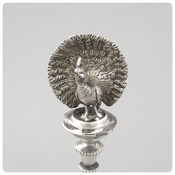 Coin Silver and Vermeil Pastry Server, Albert Coles, New York, NY, Late 19th Century - The Silver Vault of Charleston