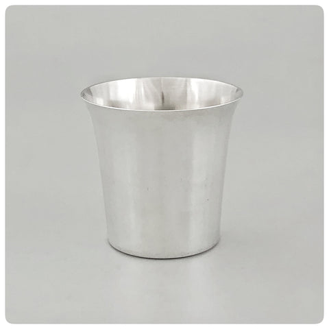 Sterling Silver Beaker with Flared Rim, Boardman Silversmiths, Wallingford, CT, 20th Century - The Silver Vault of Charleston