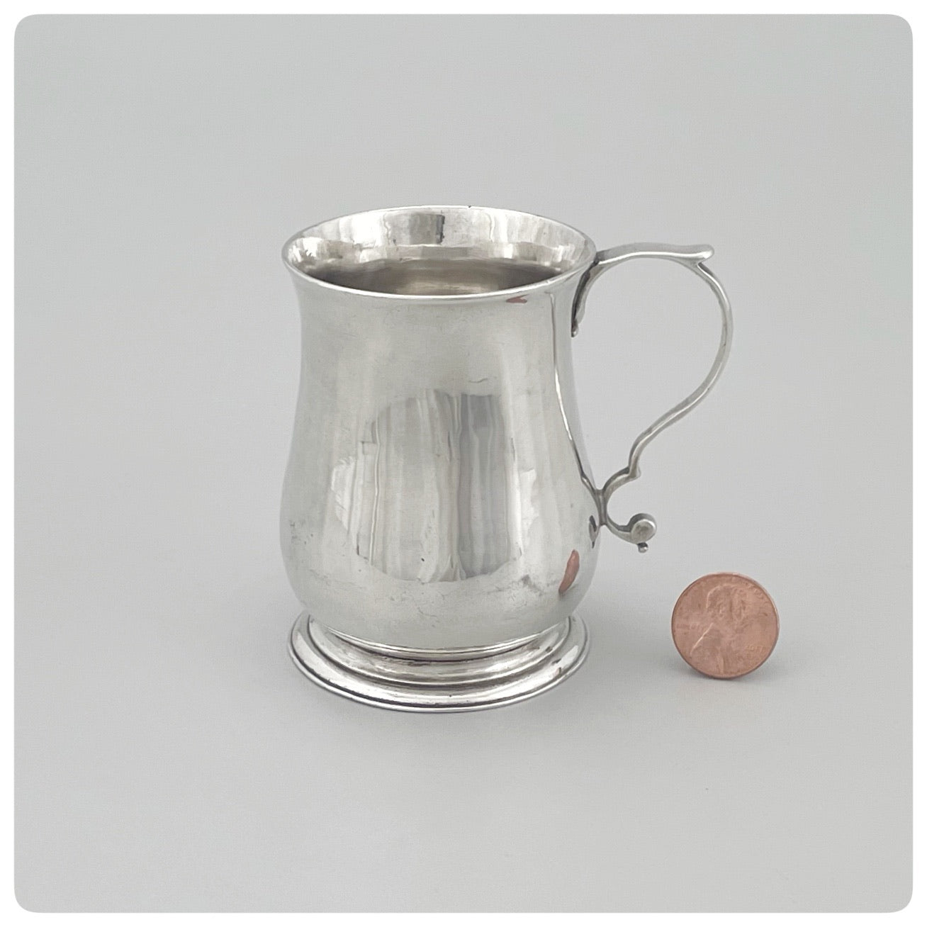 English Sterling Silver Diminutive Cann, London, 1761-1762 - The Silver Vault of Charleston