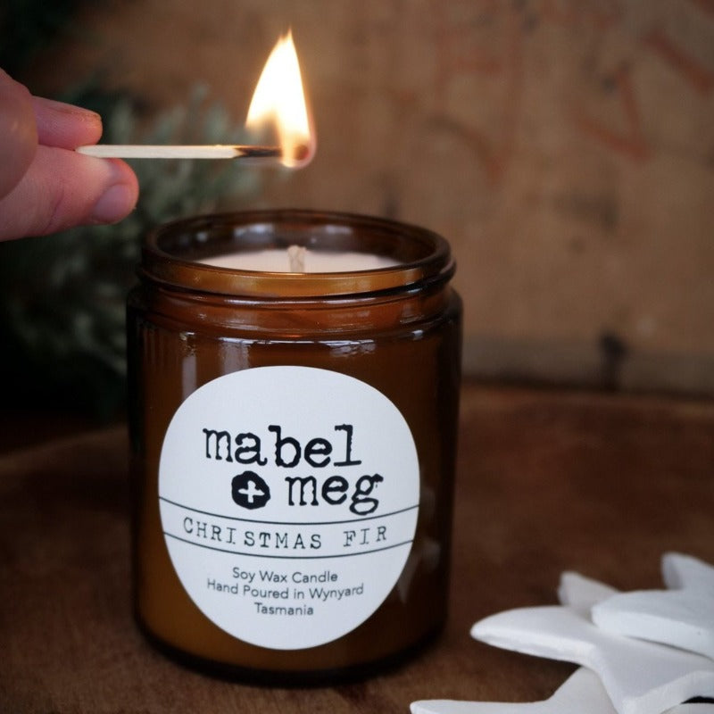 mabel + meg Christmas Fir Classic candle