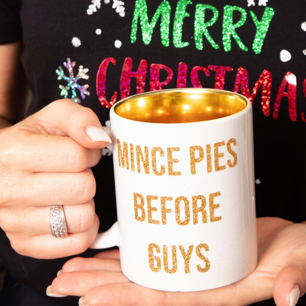 Mince Pies Before Guys Christmas Mug