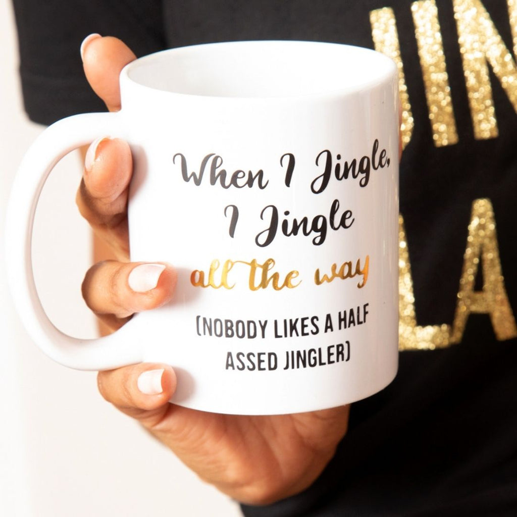 Jingle All the Way Christmas Mug