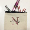 Personalized Cotton Make Up Bag