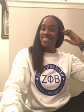 Load image into Gallery viewer, Zeta Phi Beta Crew and Tumbler