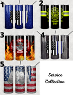 Police/Firman/Military Collection Tumblers