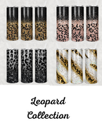 Leopard Collection Tumblers