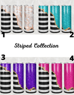 Striped Collection Tumblers