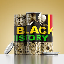 Load image into Gallery viewer, Black History Tumbler and Tee