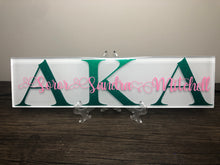 Load image into Gallery viewer, Sorority Plaque