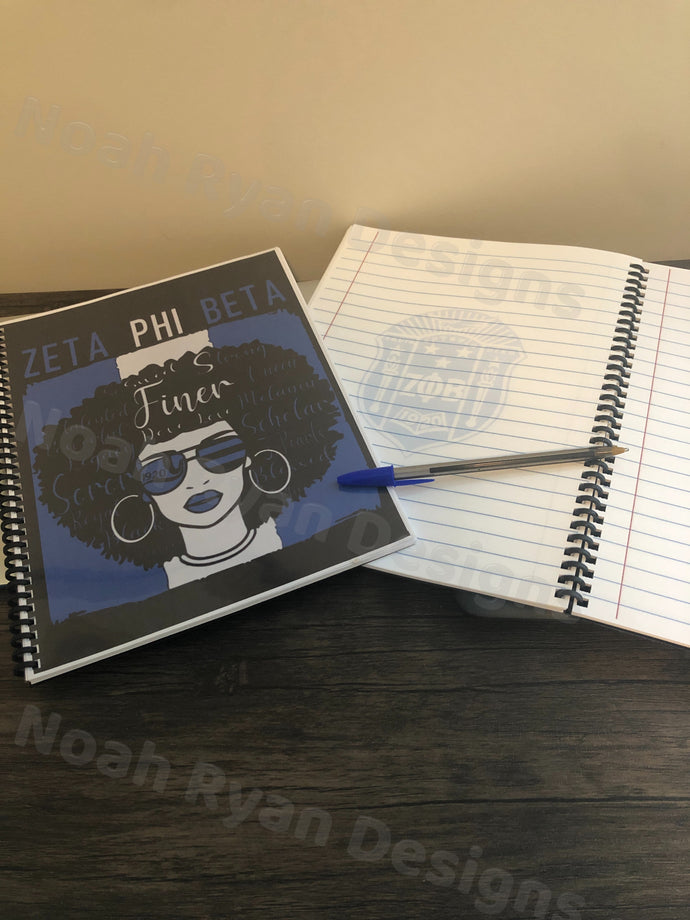 Afro Girl Notebook