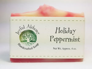Holiday Peppermint Soap