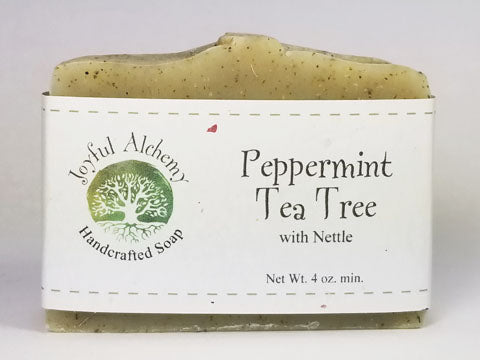 Peppermint Tea Tree Soap with Nettle