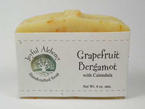 Grapefruit Bergamot Soap with Calendula