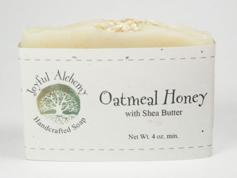 Oatmeal Honey Soap with Shea Butter