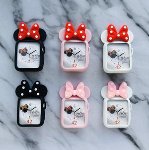 Minnie Mouse Disney Apple Watch Face Cover