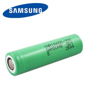 Samsung 25R 18650 Battery 2500mAh 20A