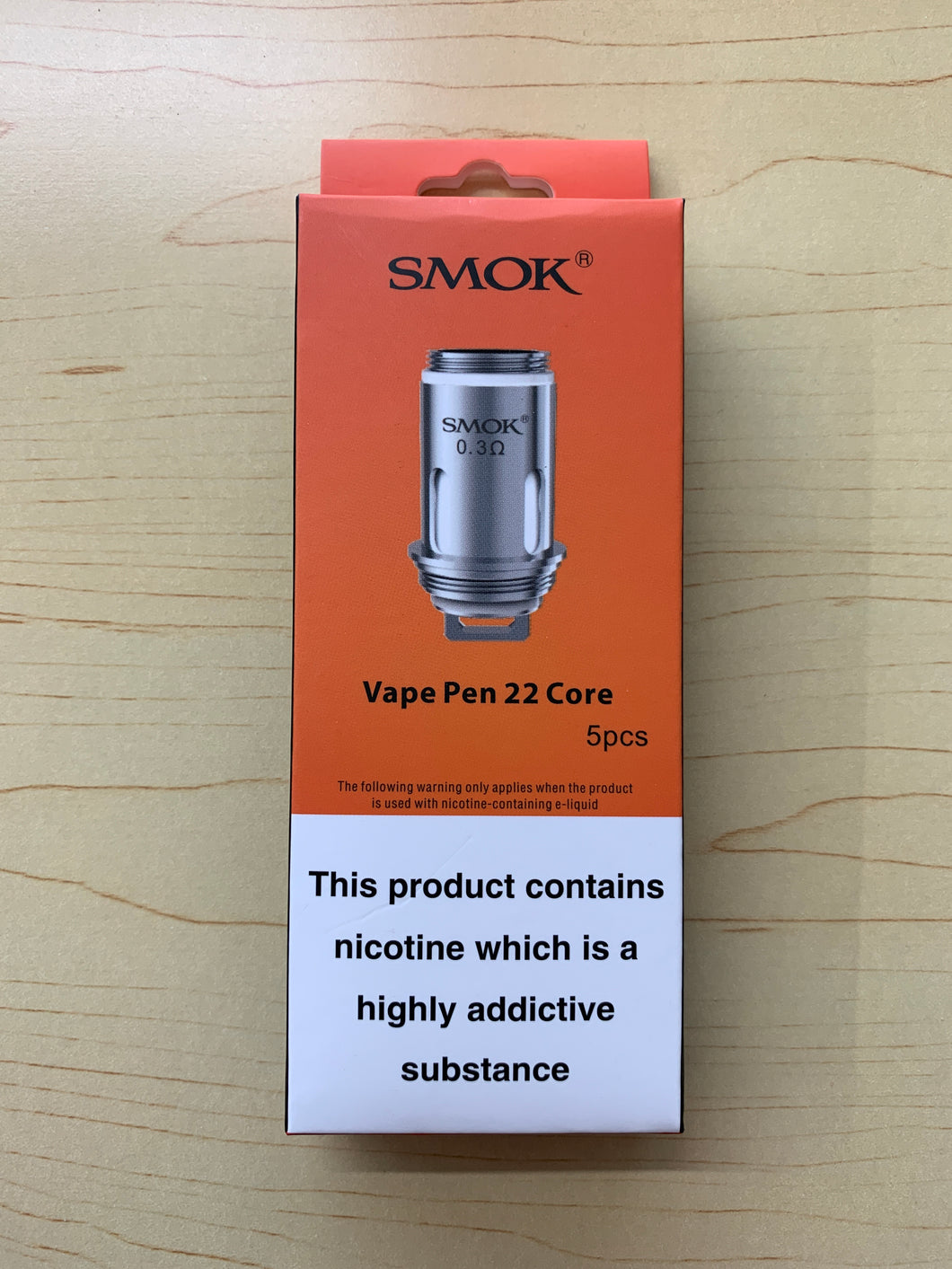 Smok Vape Pen 22 pack of 5