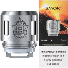 Smok V8 Baby-T8 coil - Pack of 5