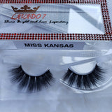 Miss Kansas Mink Eyelashes