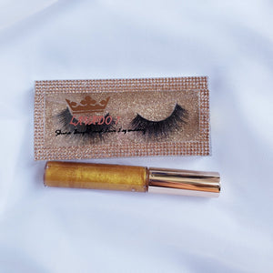 Lashes/ Lip Gloss Bundle