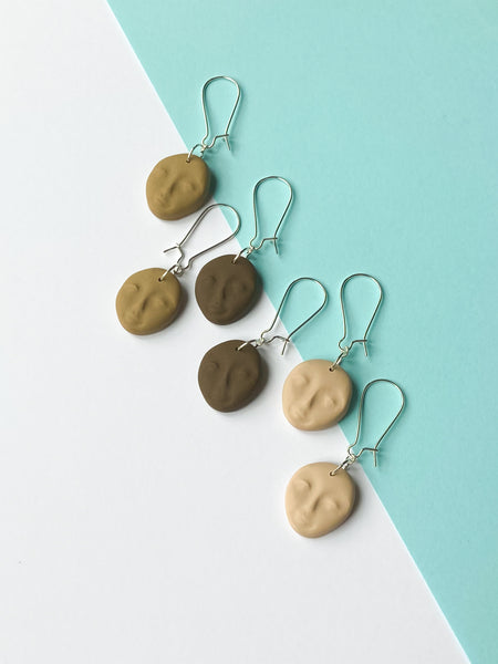 The Diversitlee Diversity Skin Colour Dangle Earrings - Katrilee