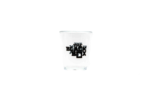 The Black Box Shot Glass