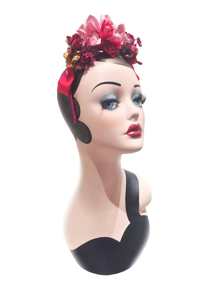 Josephine Special Occasion  Red Headband