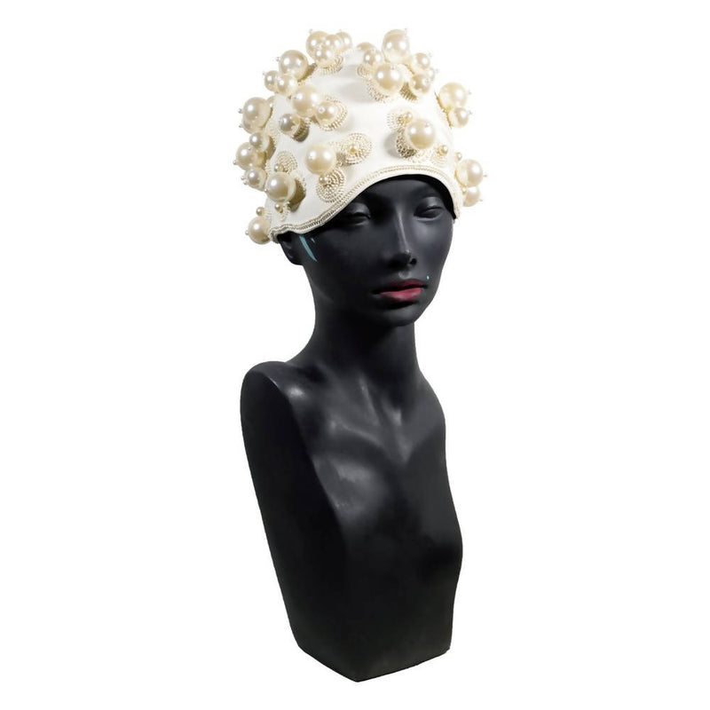 Swim Cap Ivory  All seasons Hat