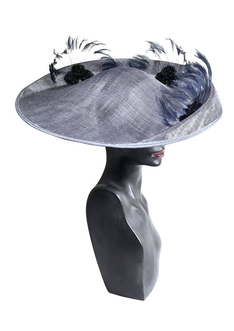 Lavacourt Under Snow (Moonlit Woods) Saucer Disc Hat
