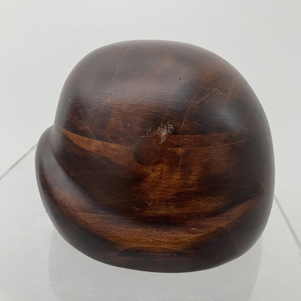 Antique wooden Cloche Hat Block