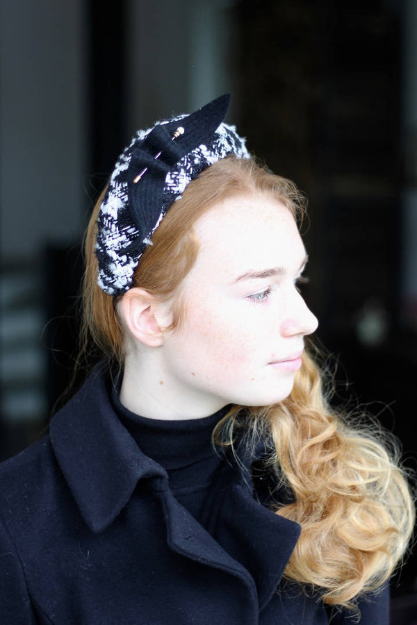 Chanel Tweed Headband