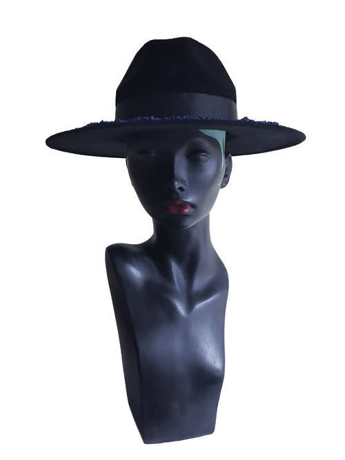 Jas  Everyday  Blue  All seasons Fedora Hat