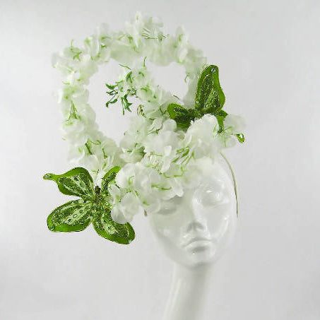Looped Wisteria Floral Headdress